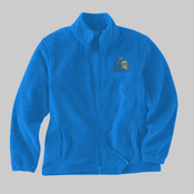North Shore Embroidered Youth Micro Fleece Jacket